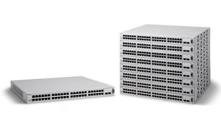 Серия Nortel Ethernet Routing Switch 5520