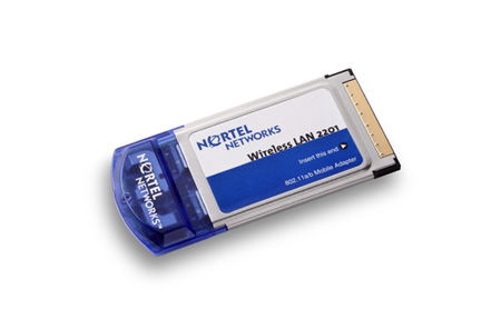 Nortel Wireless Local Area Network WLAN Mobile Adapter 2202