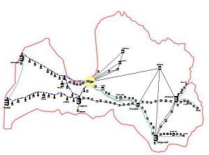 Латвийские железные дороги